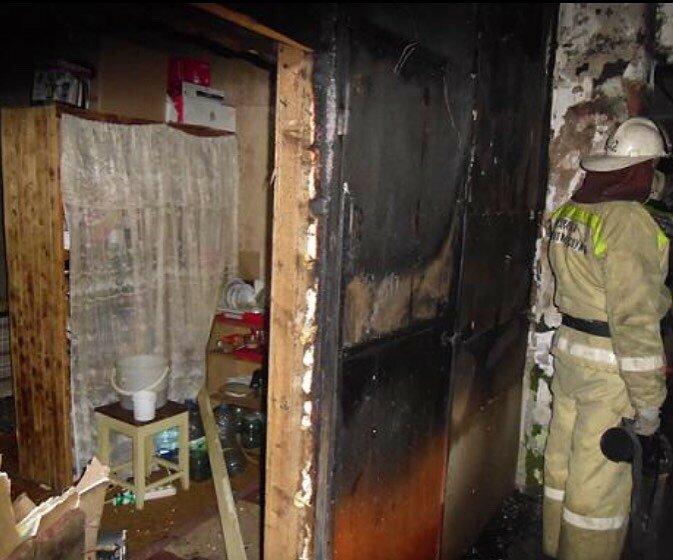 В Красноармейском районе Волгограда сгорел 69-летний